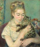 g 20 Woman with cat Pierre Auguste Renoir